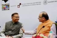 Arun Jaitley and MoS for Finance, Jayant Sinha