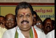 Former Union Minister G K Vasan during a press conference after formally announcing his decision to float a new party