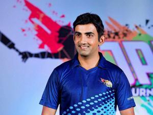 Cricketer and Brand Ambassador of IJPL Gautam Gambhir