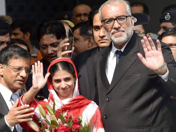 Edhi foundation, Pakistan International Airlines, Geeta Indian woman, Indian High Commission, Pakistan High Commission, Manzoor Ali Memon