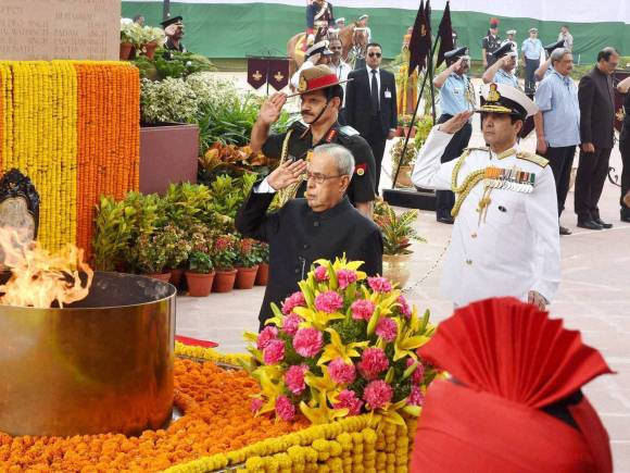 President Pranab Mukherjee, India Victory, Indo-Pak War of 1965, India's Victory in Indo-Pak War