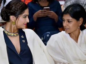 Nandita Das and Sonam Kapoor during the inauguration of the 'FLO Film Festival' in Mumbai