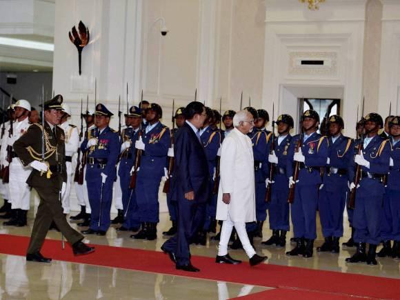 Hamid Ansari, Cambodia, Cambodian Prime Minister, Vice President, President, Naveen Shrivastava, National Assembly, Hun Sen, Hun Ansari, Economy, Cambodia