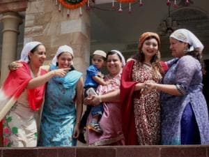 Women of Parsi Community