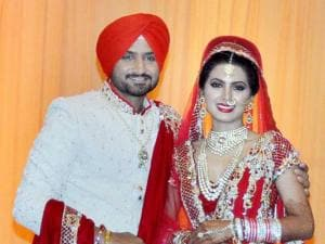Harbhajan Singh-Geeta Basra's big fat Punjabi wedding