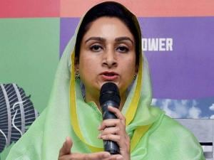Minister of Food Processing Industries, Harsimrat Kaur Badal at the Make In India Week in Mumbai 02