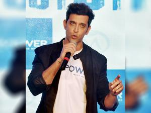 Hrithik Roshan speaks during launch of Mpower, a mental health Centre in Mumbai