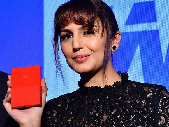 Huma Qureshi, Western Digital, hard drives, My Passport, My Book