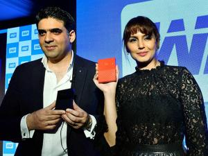 Huma Qureshi with Western Digital, Khalid Wani