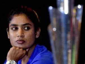 Indian Woman's Cricket Team captain Mithali Raj speaks during a press conference