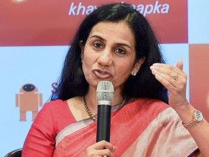 Chanda Kochhar, MD & CEO of ICICI Bank during the launch of 'Software Robotics'