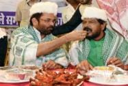 Mukhtar Abbas Naqvi and Ramdas Athawle