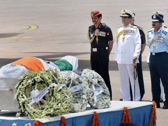 Army chief General, Dalbir Singh Suhag, Navy chief Admiral, RK Dhowan, IAF chief, Air Chief Marshal, Arup Raha, Abdul Kalam, Missile Man, Shillong, APJ Abdul Kalam, Former President of India, Bharat Ratna
