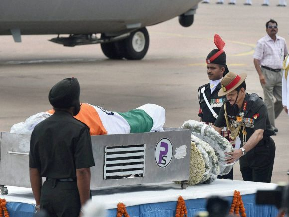 Army chief General, Dalbir Singh Suhag, Abdul Kalam, Missile Man, Shillong, APJ Abdul Kalam, Former President of India, Bharat Ratna