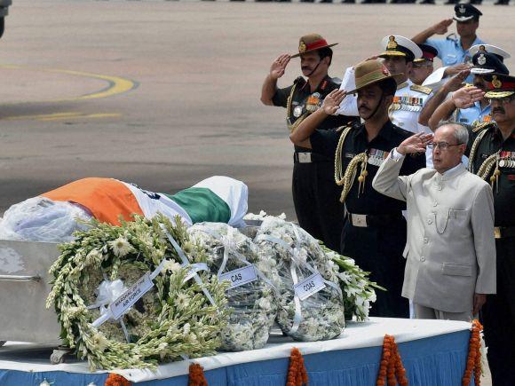 President of India, Pranab Mukherjee, Abdul Kalam, Missile Man, Shillong, APJ Abdul Kalam, Former President of India, Bharat Ratna