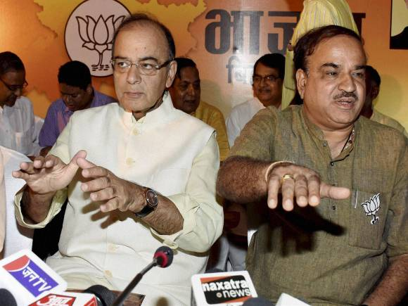 Arun Jaitley Bihar, BJP Vision Document, Amit Shah BJP Bihar, Bihar elections, Bihar polls, Bihar election date, Bihar assembly elections, Ananth Kumar