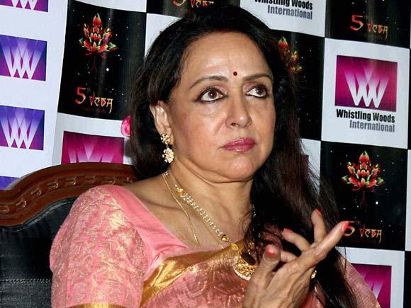 Hema Malini ,Subhash Ghai,inauguration of the third season of 5th Veda,Whistling Woods,