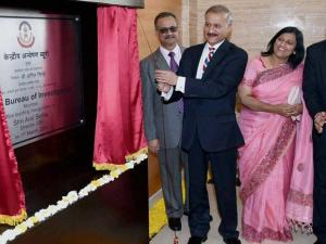 CBI Director Anil Sinha during inauguration of the new office building of CBI in Mumbai