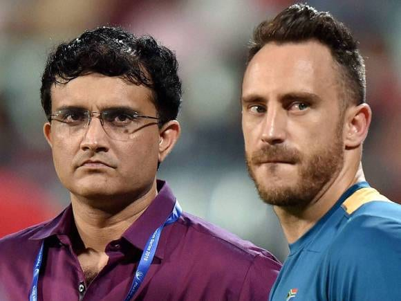 Sourav Ganguly, South Africa Captain, Du Plessis, South Africa, India, 3rd T20I abandoned in Kolkata, South Africa win series 2-0, Eden Gardens, South Africa in India Series 2015, Cricket, Live Score, Live Cricket Score