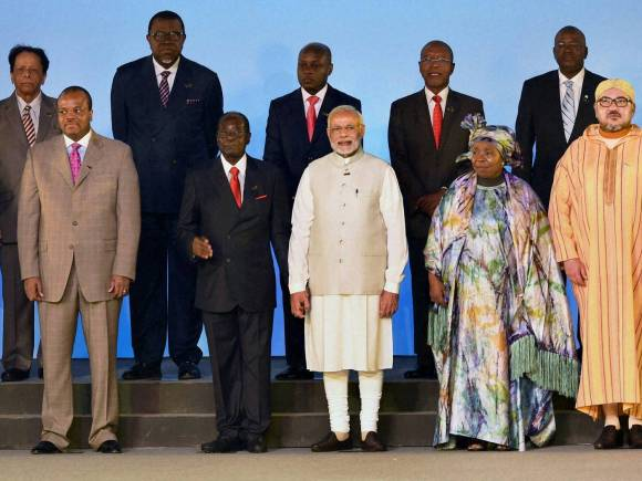 India-Africa Summit, Zimbabwe President, Robert Mugabe, Solar Rich countries, Rajyavardhan Singh Rathore, India Africa, India Africa Summit, Africa Summit, Africa India Summit, India Africa ties, India Africa Summit Dinner, PM Banquet India Africa Summit