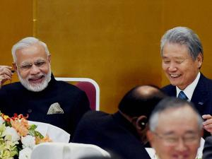 bussiness lunch in honour of Prime Minister Narendra Modi