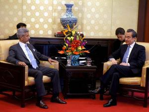 Foreign Secretary, S Jaishankar holding talks with Chinese Foreign Minister Wang Yi in Beijing ahead of the Strategic Dialogue