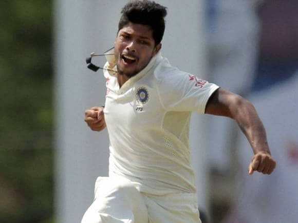 Umesh Yadav, Angelo Mathews, India, Sri Lanka, Colombo