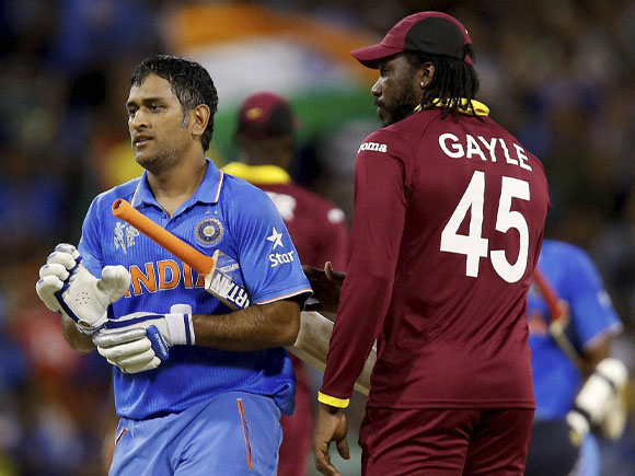 Chris Gayle, M S Dhoni, World Cup,  India, West Indies, India vs West Indies, Team India, Australia, Cricket fan