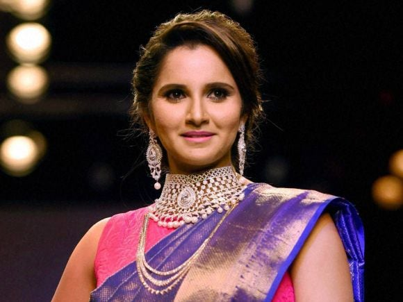 Sania Mirza, Jewellery, India International Jewellery Week, Fashion Show, Mumbai, India, International
