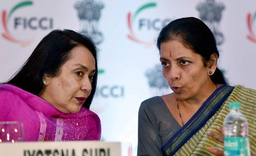 Minister of State, Commerce, Industry, Nirmala Sitharaman, FICCI, Vice President, Jyotsna Suri, INDIA-LAC, Investment, Conclave