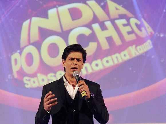 Shah Rukh Khan,  India Poochega, Sabse Shaana Kaun, Dance