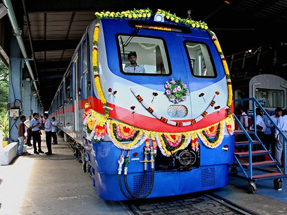 ICF, Integral Coach Factory, Kolkata Metro Rail, Metro Rail, Indian Railways, Chennai Metro Rail Limited