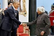 APJ Abdul Kalam with US President Barack Obama