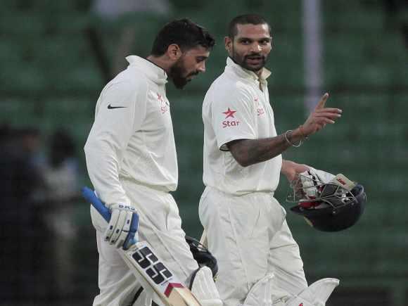 Shikhar Dhawan, Murali Vijay, India, Bangladesh, Test Match
