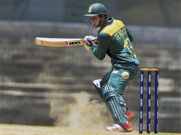 Quinton de Kock, India, South, Africa, Triangular Series, MAC Stadium, Chennai