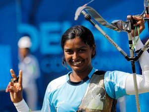 Deepika-Kumari-(Individual-and-Team-event-in-Recurve)