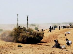 Indian Army carries out an exercise named 'Thar Shakti' in Thar Desert