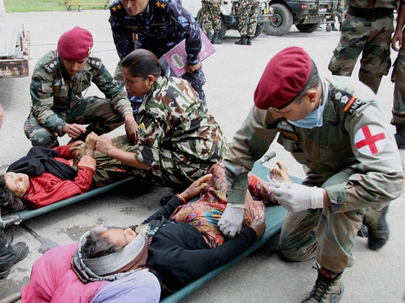 Nepal, Indian Army, Nepal Earthquake, 7.9-Magnitude Earthquake, Modi