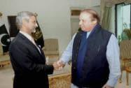 Subrahmanyan Jaishankar, Pakistan Prime Minister Nawaz Sharif