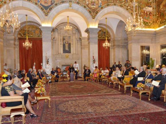 India, Pacific Island Countries, Rashtrapati Bhavan, Island Countries, President of India, Pranab Mukherjee, New Delhi