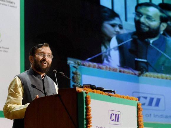 Prakash Javadekar, Minister for Environment, Forests and Climate Change, Green Metro Systems, DMRC Bhawan, New Delhi