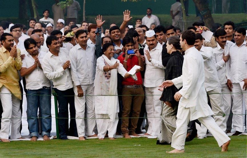 Congress President, Sonia Gandhi, Rahul Gandhi, meeting, supporters, paying tribute, former Prime Minister, Indira Gandhi, 30th Death Anniversary, Shakti Sthal