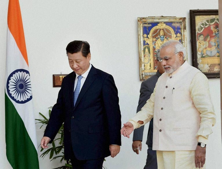 Prime Minister, Narendra Modi, Chinese President, Xi Jinping, prior, meeting, Hyderabad House