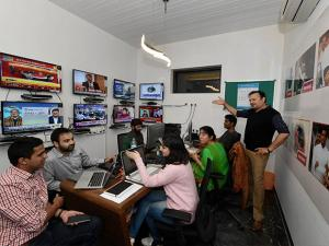 Inside Akhilesh Yadav's election war room