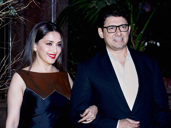 Madhuri Dixit Nene, Sriram Nene, birthday, Manish Malhotra, fashion designer, birthday celebrations