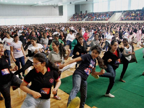 Girls Dance, Women Day,  International Women's Day