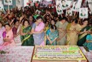 AIADMK women's wing celebrating Women's Day