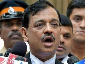 Public prosecutor Ujjwal Nikam interacts with the media after David Headley deposed before a court through video lin_ in the 26 11 case, in Mumbai