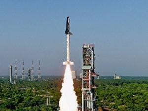 ISRO successfully launches India's first indigenously made space shuttle- the Reusable Launch Vehicle (RLV) in Sriharikota