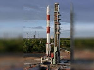 PSLV-C35 ready to be launch with SCATSAT-1